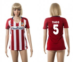 Mujer Camiseta del 5 Atletico Madrid 2015/2016