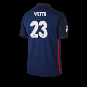 Camiseta de Atletico Madrid 2015/2016 Segunda VIETTO Equipacion