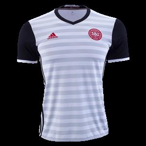 Camiseta Dinamarca de la Seleccion Segunda 2015