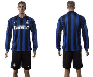 Camiseta nueva Inter milan Manga Larga 2015/2016