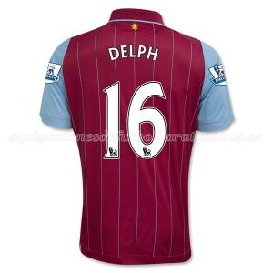 Camiseta de Aston Villa 2014/15 Primera Delph Equipacion