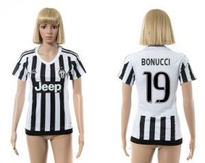 Mujer Camiseta del 19 Juventus 2015/2016