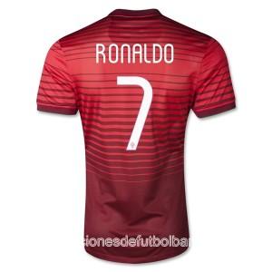 Camiseta nueva Portugal de la Seleccion Ronaldo Primera 2013/2014