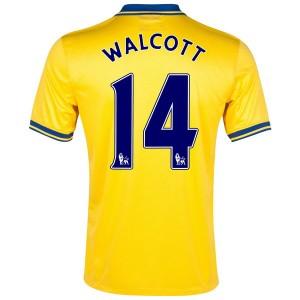 Camiseta nueva del Inglaterra de la Seleccion 2013/2014 Walcott Segunda