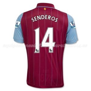 Camiseta nueva del Aston Villa 2014/15 Equipacion Senderos Primera