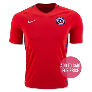 Camiseta nueva del Chile 2016 Home