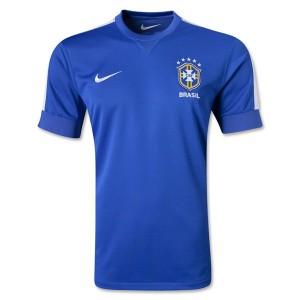 Camiseta nueva del Brasil de la Seleccion 2013/2014 Segunda