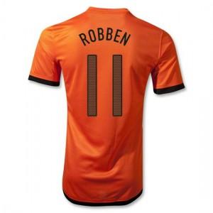 Camiseta nueva Holanda de la Seleccion Robben Primera 2012/2014