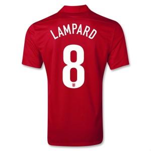 Camiseta nueva Inglaterra de la Seleccion Lampard Segunda 2013/2014
