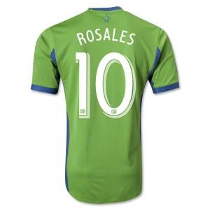 Camiseta Seattle Sound Rosales Primera Tailandia 2013/2014
