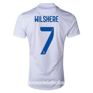 Camiseta nueva del Inglaterra de la Seleccion WC2014 Wilshere Primera