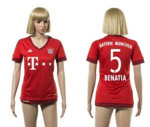 Camiseta de Bayern Munich 2015/2016 5 Mujer