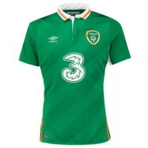 Camiseta nueva Irlanda UEFA Euro 2016