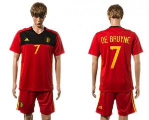 Camiseta de Belgium 2015-2016 7#