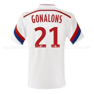 Camiseta nueva Lyon Gonalons Primera 2014/2015