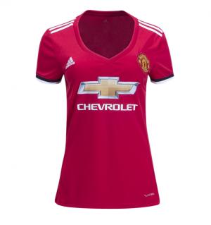 Mujer Camiseta del Manchester United Primera Equipacion 2017/2018