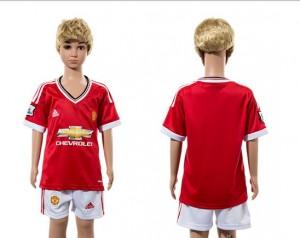 Camiseta de Manchester United 2015/2016 Ni?os