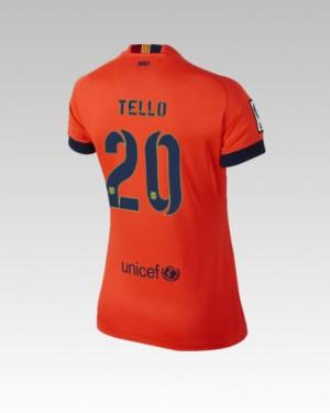 Camiseta de Barcelona 2013/2014 Tercera Alexis Equipacion