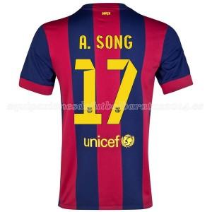 Camiseta nueva Barcelona A.Song Primera 2014/2015