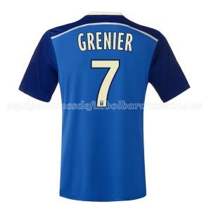 Camiseta Lyon Grenier Segunda 2014/2015
