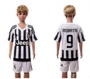 Camiseta nueva del Juventus 2015/2016 9 Ni?os Home
