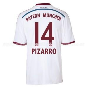 Camiseta nueva del Bayern Munich 2014/2015 Equipacion Pizarro Segunda