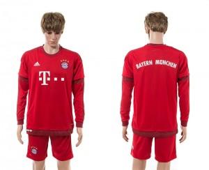 Camiseta Bayern Munich Primera Manga Larga 15/16