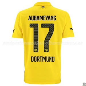 Camiseta nueva Borussia Dortmund Aubameyang Tercera 14/15