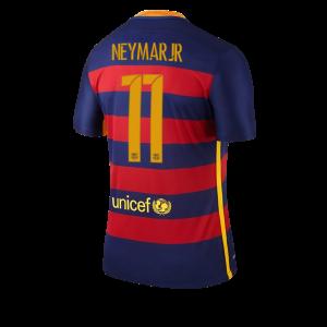 Camiseta de Barcelona 2015/2016 Primera Numero 11 NEYMAR Equipacion