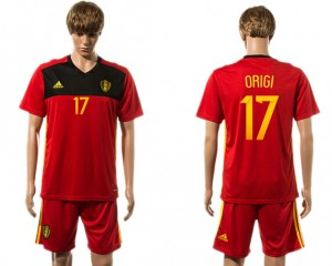 Camiseta Belgium 17# 2015-2016