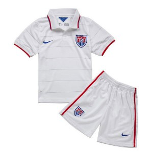 Camiseta EE.UU de la Seleccion Primera 2014 Nino