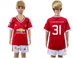 Camiseta de Manchester United 2015/2016 31 Ni?os