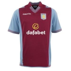 Camiseta del Aston Villa Primera Equipacion 2013/2014