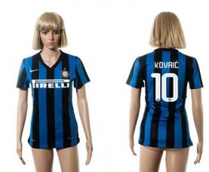 Camiseta nueva del Inter Milan 2015/2016 10 Mujer