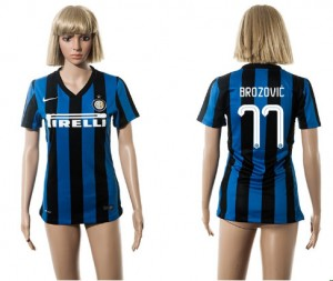 Camiseta Inter Milan 77 2015/2016 Mujer