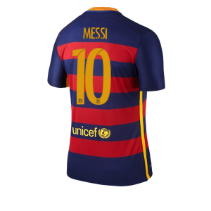 Camiseta nueva Barcelona Numero 10 MESSI Equipacion Primera 2015/2016