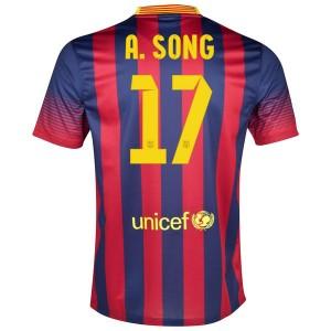 Camiseta de Barcelona 2013/2014 Primera A.Song
