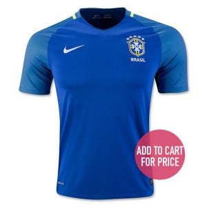 Camiseta nueva Brasil Equipacion Segunda 2016