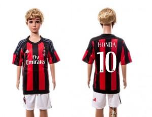 Camiseta de AC Milan 2015/2016 Home Ni?os
