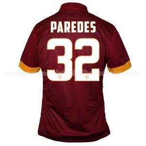 Camiseta nueva del AS Roma 2014/2015 Equipacion Paredes Primera