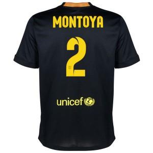 Camiseta del Montoya Barcelona Tercera Equipacion 2013/2014