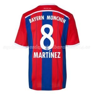 Camiseta del Martinez Bayern Munich Primera Equipacion 2014/2015