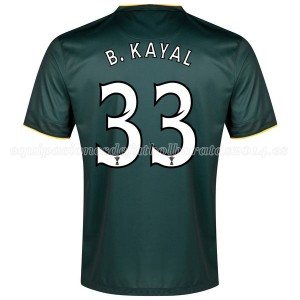Camiseta Celtic B.Kayal Segunda Equipacion 2014/2015