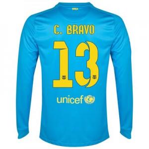 Camiseta Portero del C.Bravo Barcelona Segunda Equipacion 2014/2015