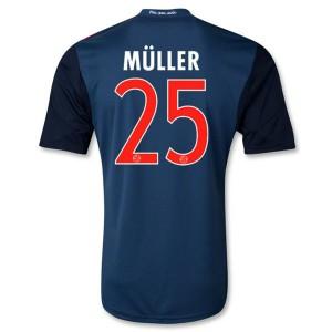 Camiseta de Bayern Munich 2013/2014 Segunda Muller Equipacion