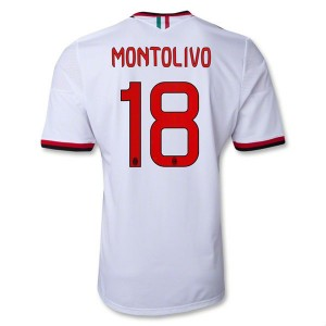 Camiseta nueva AC Milan Montolivo Equipacion Segunda 2013/2014