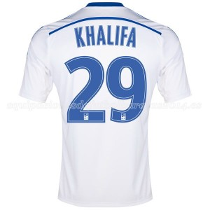 Camiseta nueva Marseille Khalifa Primera 2014/2015