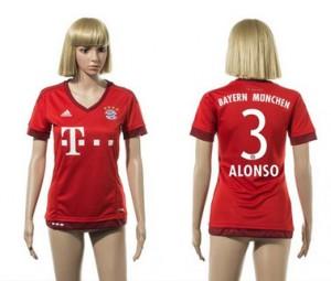 Camiseta Bayern Munich 3 2015/2016 Mujer