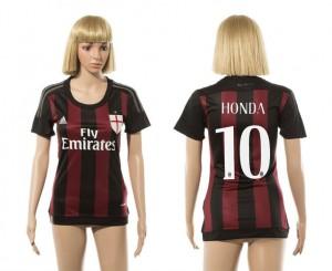 Camiseta AC Milan 10 2015/2016 Mujer