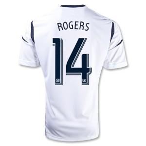 Camiseta Los Angeles Galaxy Rogers Primera 2013/2014